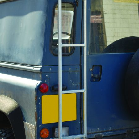 DA1089 GALVANISED DEFENDER ROOF RACK ACCESS LADDER
