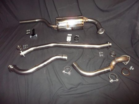 EXHS3SWBDVY200S Stainless Conversion Exhaust System Discovery 200Tdi Series SWB