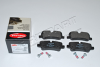 LR019627AP DELPHI REAR BRAKE PADS