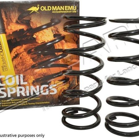 DA8955 OLD MAN EMU DISCO 1 2 REAR COIL SPRINGS +40