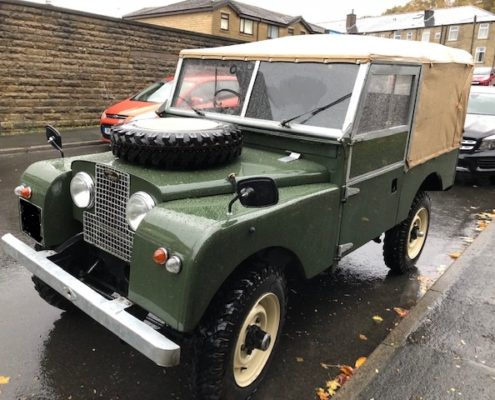 land rovers series 1