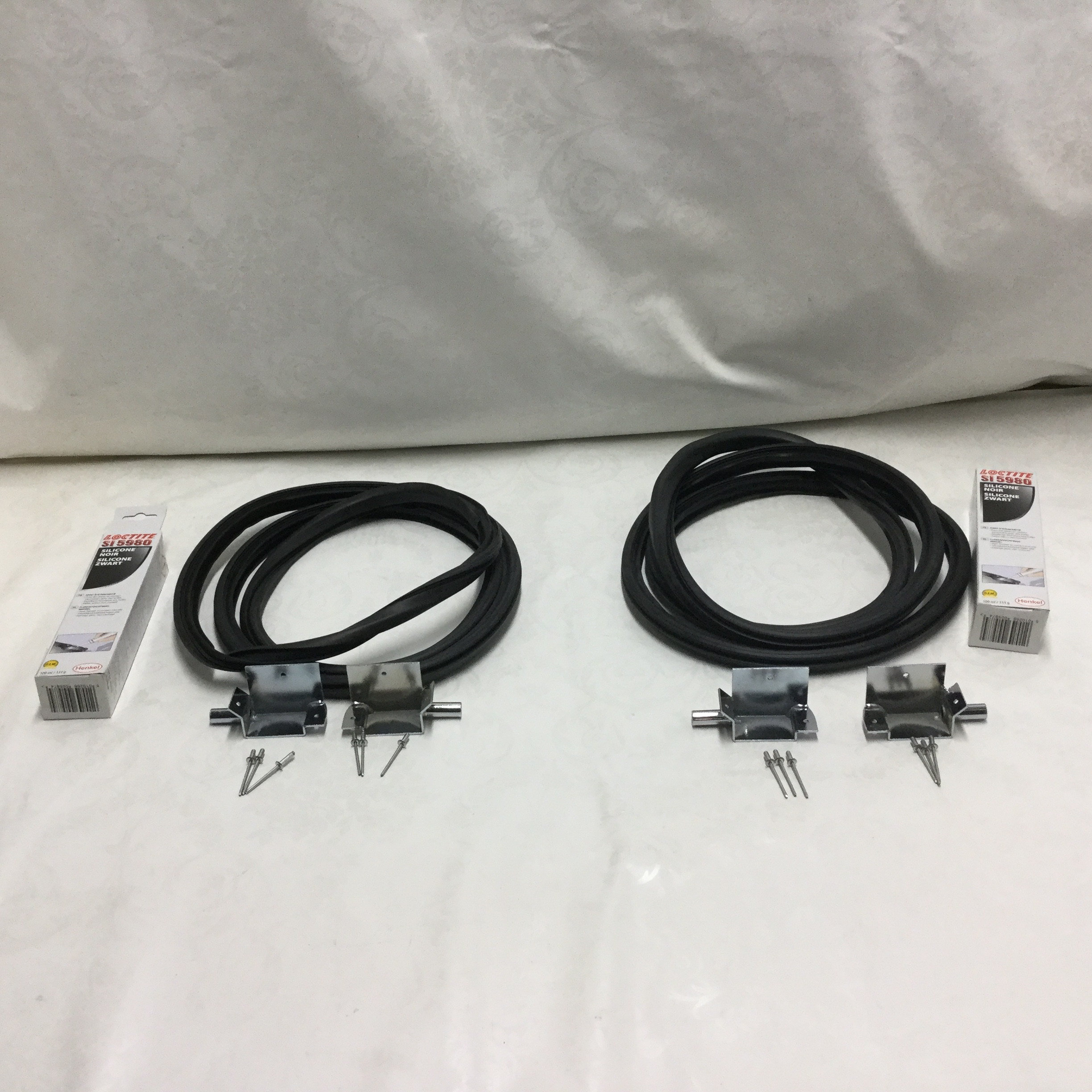 2 x DISCOVERY 2 SUNROOF DRAIN TUBE REPAIR KIT