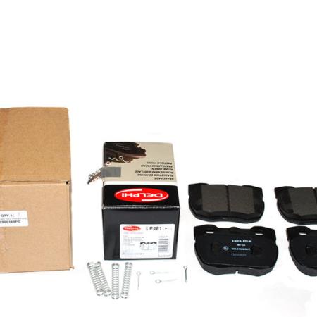 SFP500160PC BRAKE PAD SET INCL PINS & CLIPS - DELPHI